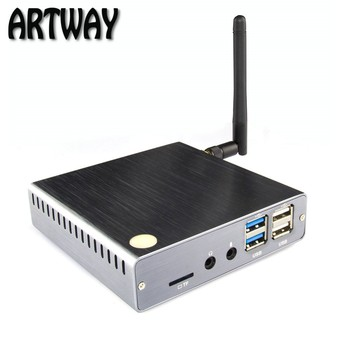 metal case windows10 mini pc tv box CPU intel cherry chail Z8350 ROM 4G ROM 64GB stream media mini pc