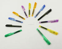 colorful fluent customised ink pen