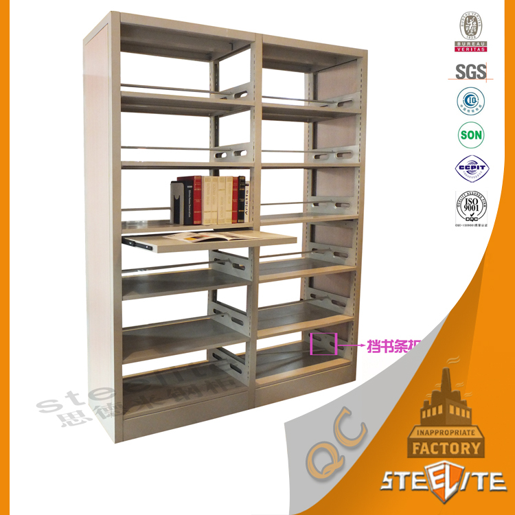 school library used easy assembled 6 tier steel library shelves rh alibaba com used library shelving used library bookshelves