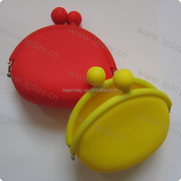 Metal Material and Cookie Tools Type animal silicone Mini Wallet