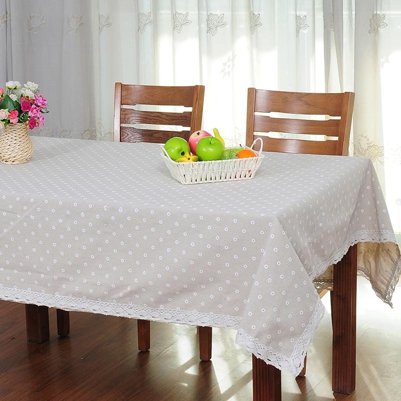 acheter marguerite blanche fluide table de tapis de tissu chiffon table ronde. Black Bedroom Furniture Sets. Home Design Ideas
