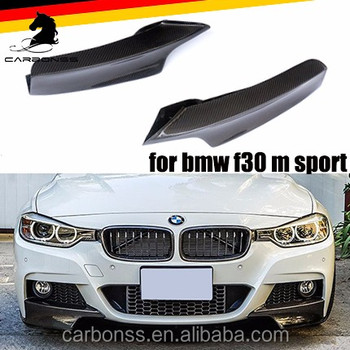 Carbon Fiber Splitter For Bmw F30 Sedan W M Tech M Sport Front