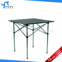 roll up top quick folding small folding table