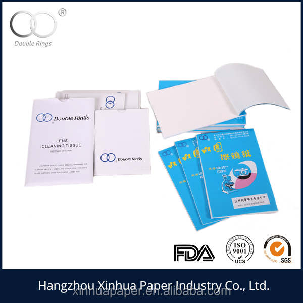double rings microscope cleaning tissue paper