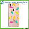 Elongsin custom design printing soft clear tpu mobile phone case for iphone 7 cover