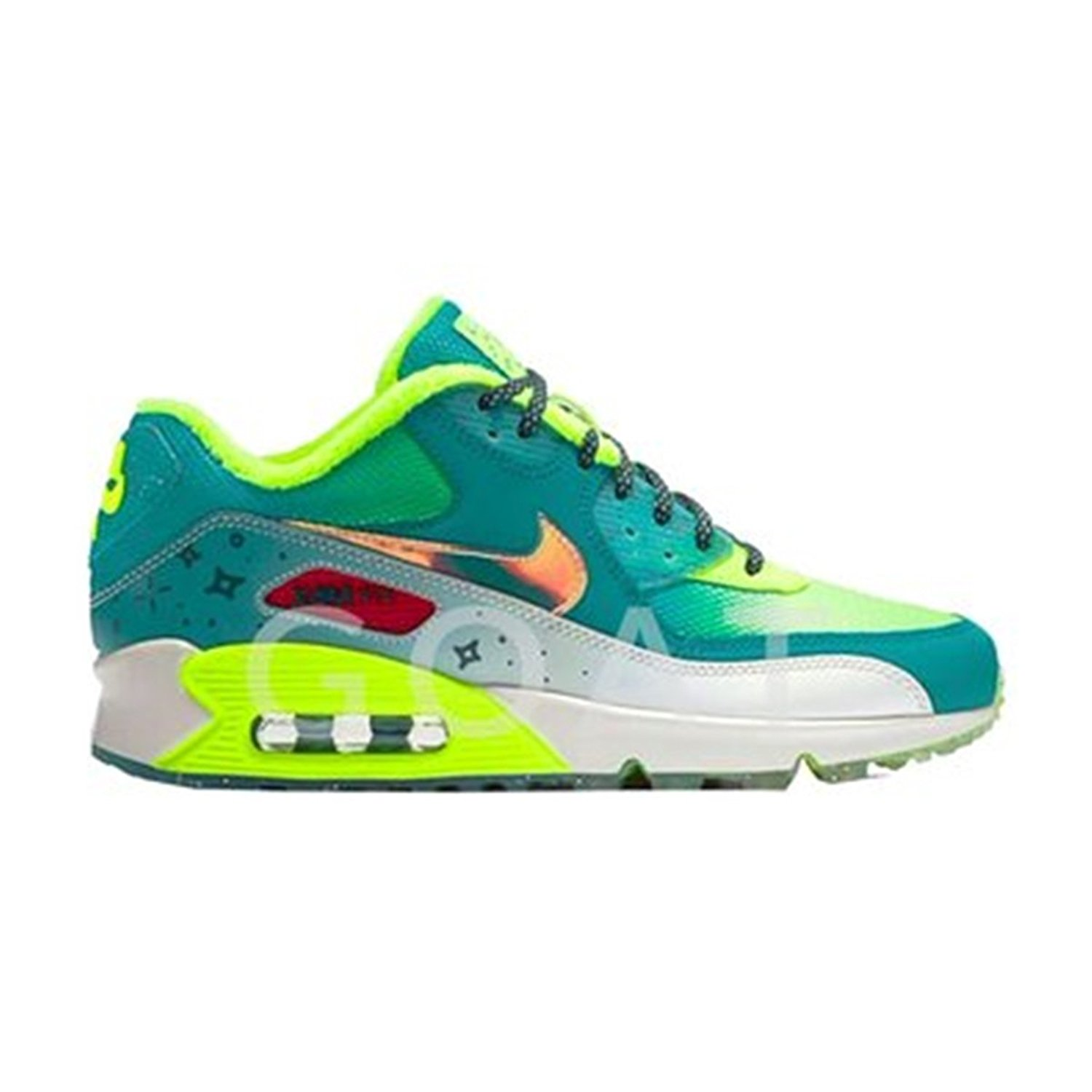 the best attitude 39059 684b3 Get Quotations · Nike Air Max 90 Premium Emory's Doernbecher 838768-374  Girls ...