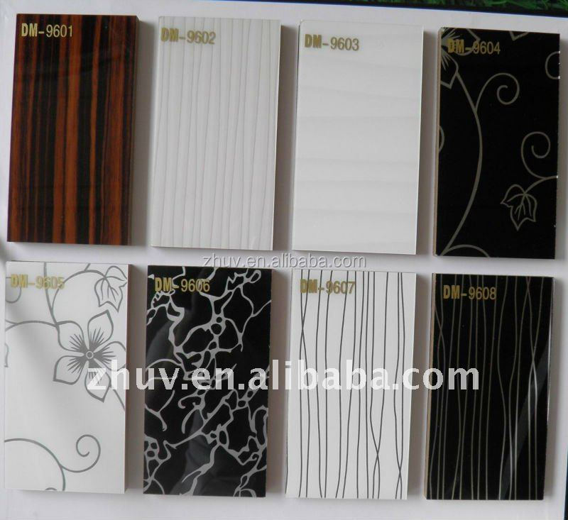Glossy Acrylic Sheet MDF and Lot of Color and Design