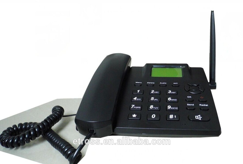 Hot Sell! Fwp 6188 Gsm Fixed Wireless Phone With Fm Radio
