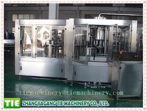 2016 customized full automatic carbonated soft drink filling machine used