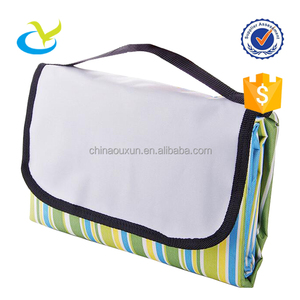 Wholesale pp woven waterproof foldable children kids baby play mat