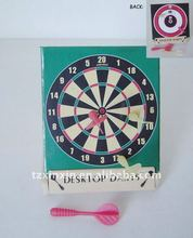 Mini magnetic dart games for entertainment