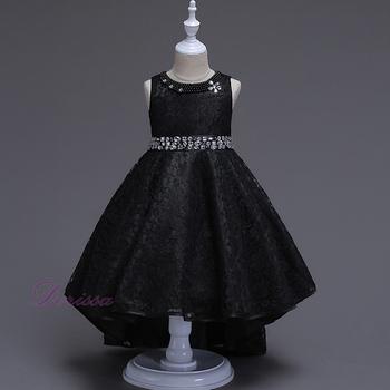 d3b51284fb9d9 Nouveau Modèle Dentelle Mode Style Enfants Robes Adolescents Fille Robe  Bébé Robes De Soirée Pour Mariage