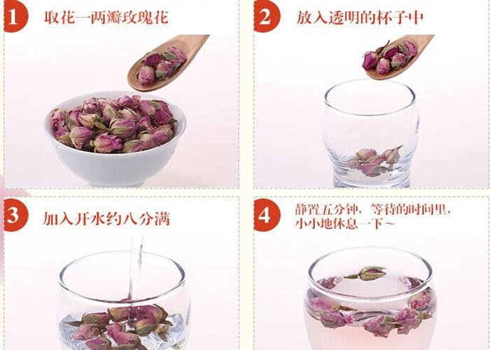 Beauty Women Care Tea Red Rose Tea Buds Herbal Tea - Buy Good ...