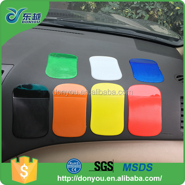 New product PU sticky pad non slip dash holder pad