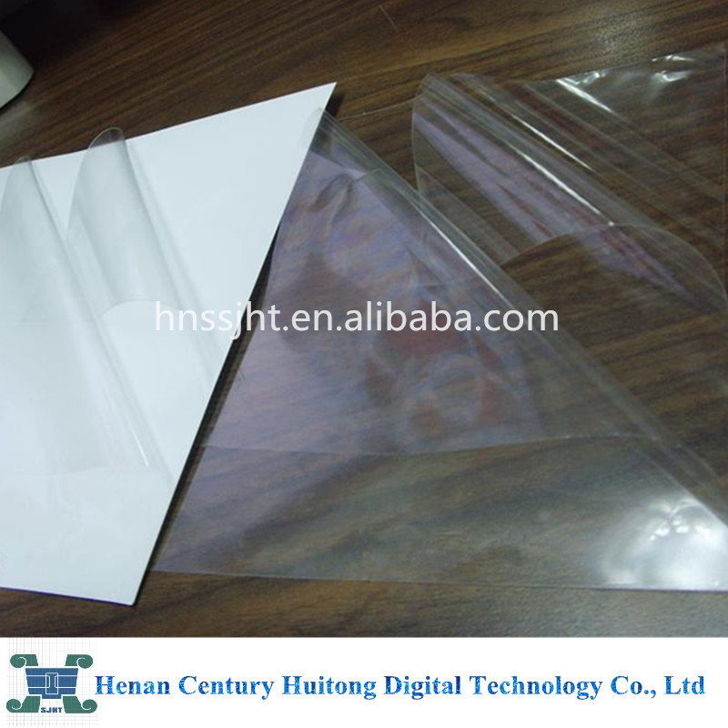 optical clear double sided adhesive mounting film roll