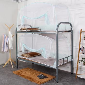 ジッパーと二段ベッドキャノピー自立蚊帳ステンレス鋼フレーム   Buy