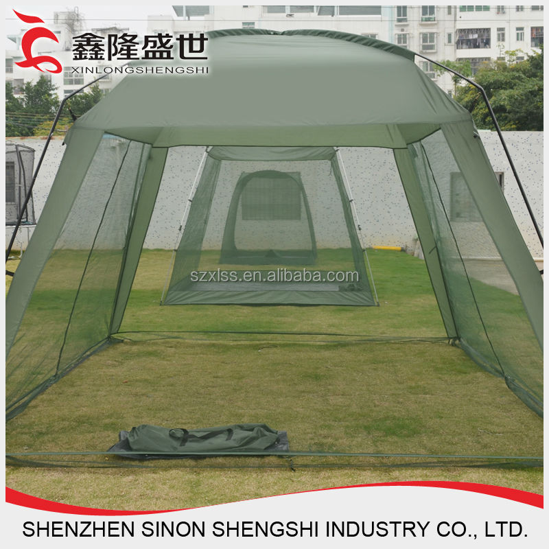 Camping Steel Frame Pop Up Folding Mosquito Net Tent Beach