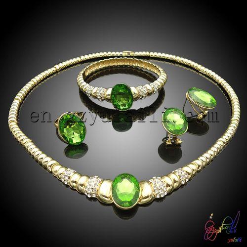 38b6a7b17685 italiano joyas de oro engastado novia al por mayor joyas china proveedor