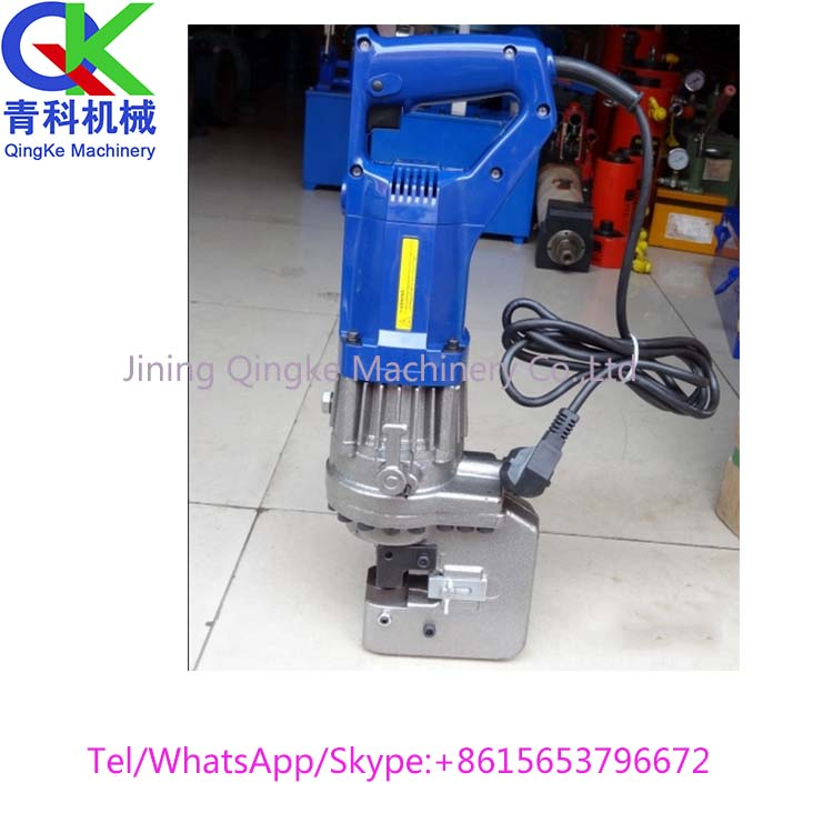 Portable electric hydraulic punching machine for sale Plate punching equipment
