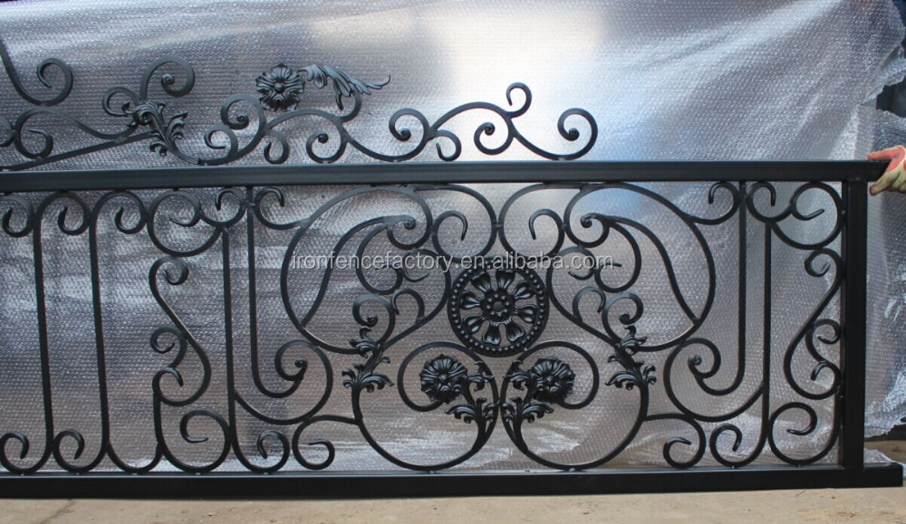 Decorative Simple Wrought Iron Pipe Main Gate Designs/iron Pipe ...