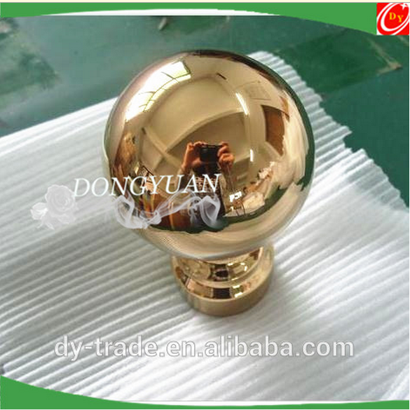 Mirror Golden Stainless Steel Handrail Balls for Railing