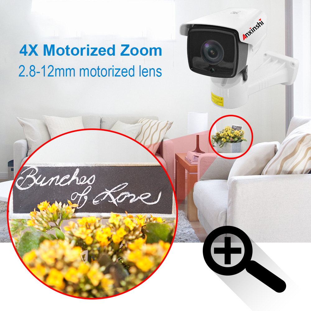 Low cost  vandaproof  Analog AHD camera 1080P starlight IR PTZ BULLET CAMERA with RS485 UTC IR 80M   Sony IMX307 sensor