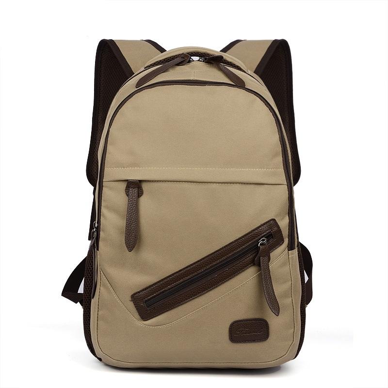 Get Quotations · Backpack For Teenager School Back Pack Women s Casual  Daypacks Men Canvas Laptop Backpack Girls Female Mochila f23548d96e