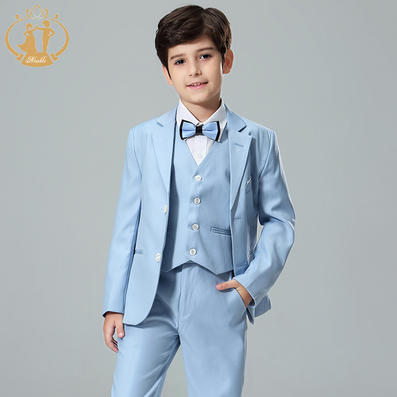 Nimble Wholesale Baby Boy <strong>Formal</strong> Wedding <strong>Suits</strong> Baby Boy Clothing Set For <strong>Formal</strong> Occasion Light Blue Baby Boy <strong>Suit</strong>