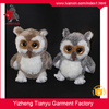 Cute design wild animal soft material Big eyes plush toy custom plush owl toy