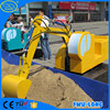 Cute and funny indoor & outdoor kids ride on toy excavator/mini toy excavator