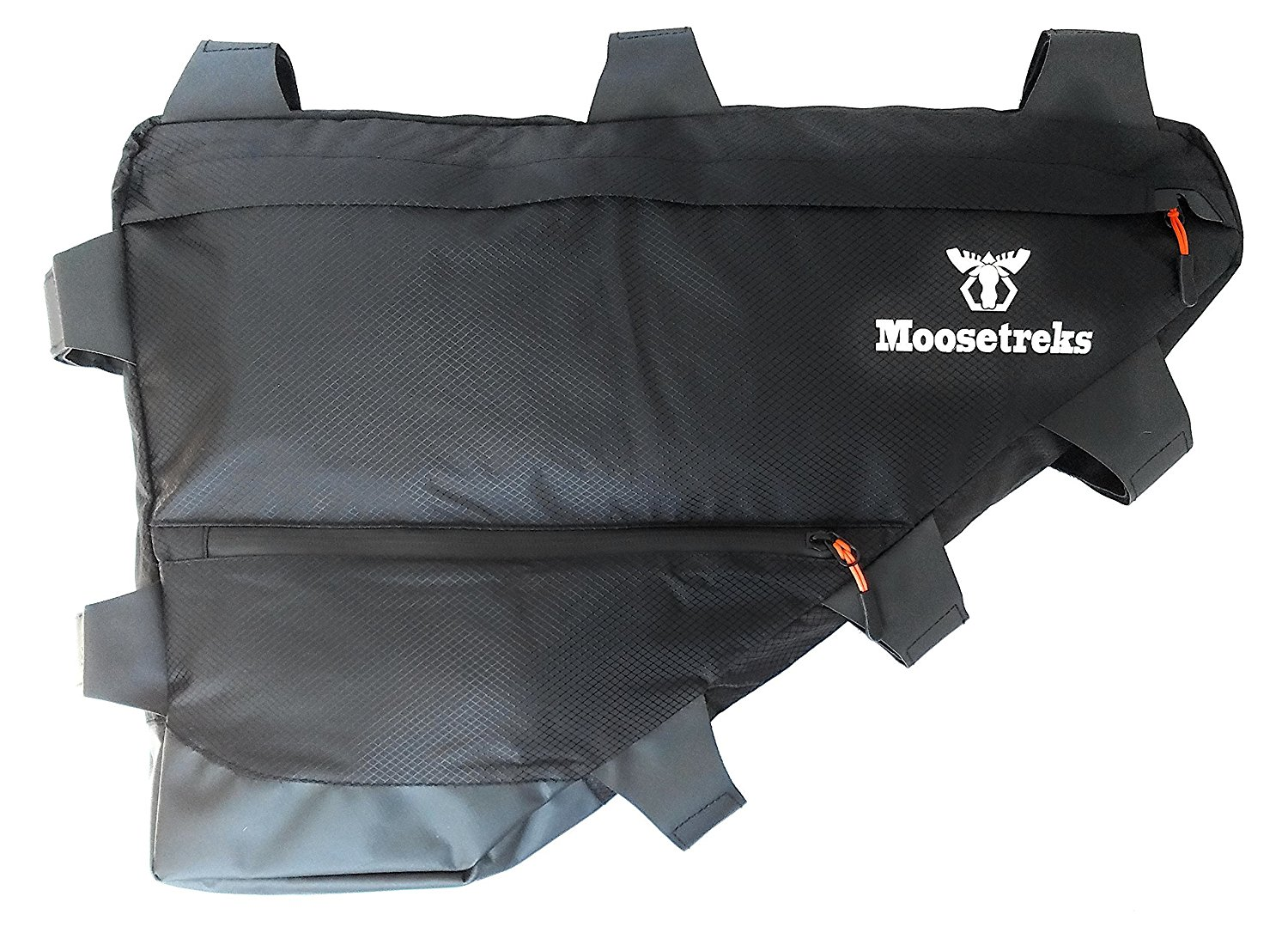Moosetreks Road/Touring Bike Full Frame Bag | Bikepacking, Bicycle Touring, Commuting Full Frame Pack | Small (6.5L), Medium (12L), Large (14L) | Extremely Water Resistant