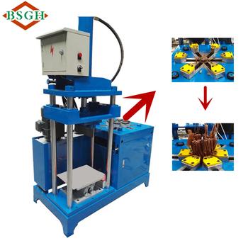 Motor Copper Recycling Machine Scrap Motor Stator Cracker Cutting Machine  Export To India Market - Buy Electric Car Motor Recycling Machines,Waste