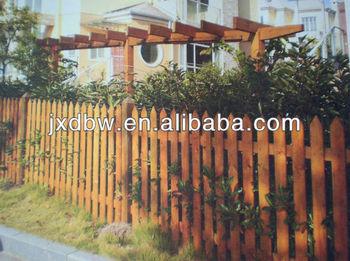 Decorazioni In Legno Per Giardino : Legno durevole recinzione da giardino in legno a traliccio