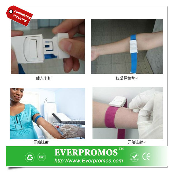 Medical elastic tourniquet as promotional gifts
