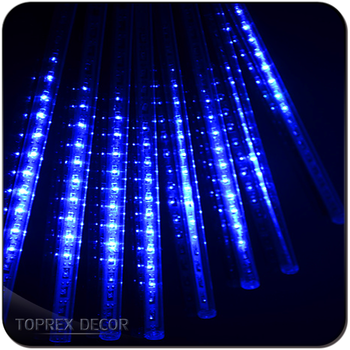outdoor shower tube led rain drop christmas lights led meteor tubes low voltage