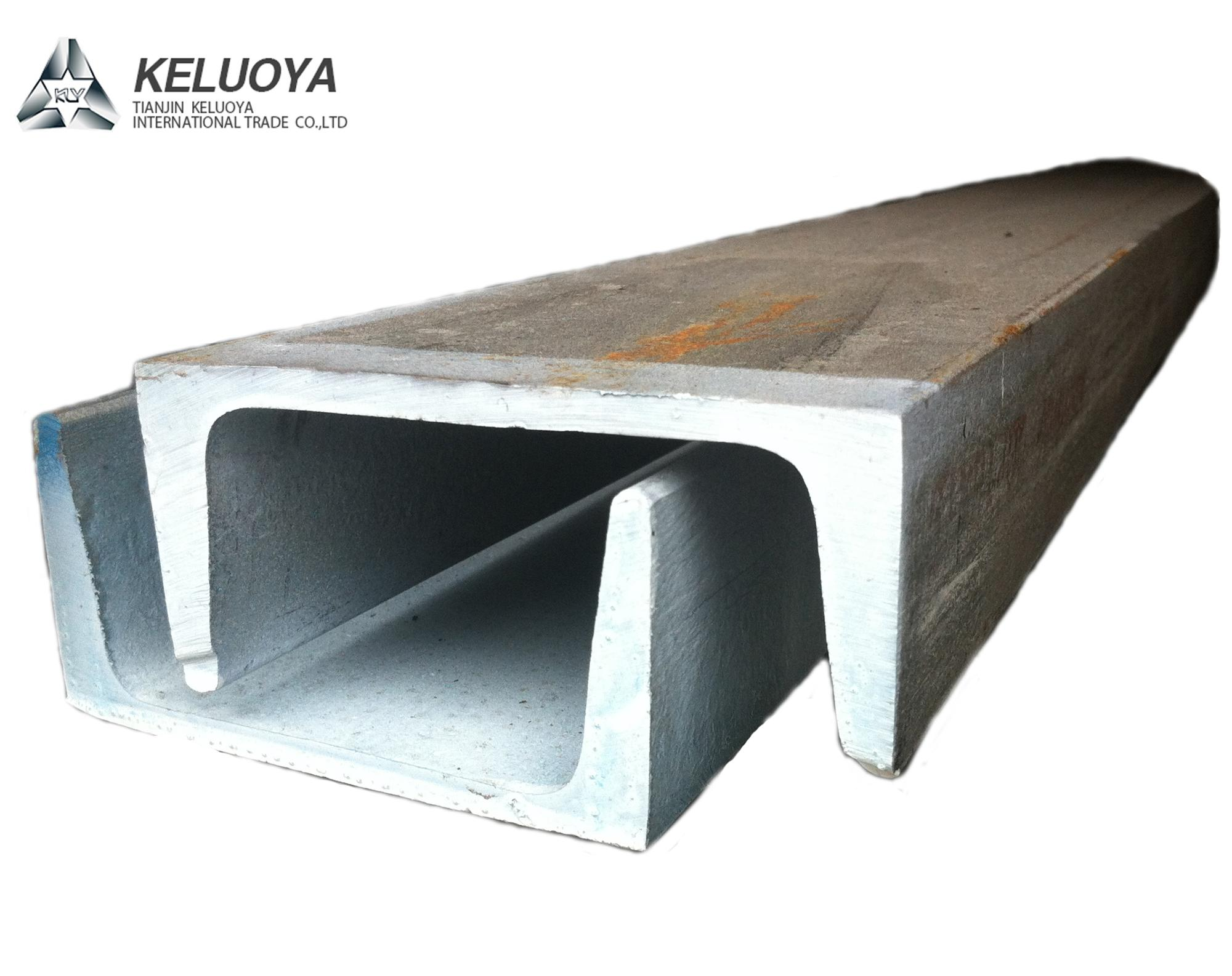 Drywall Metal Stud Track Cold Rolled Steel U Channel