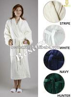 Super Absorbent Spa Long 100% Cotton Lady Bath robe for women