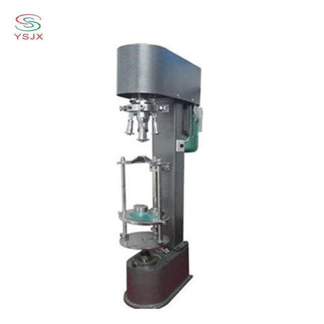 Electric capping machine for aluminum screw caps / pilfer capping machines