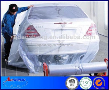 Recycle Product Hdpe Automotive Spray Paint Plastic Sheeting