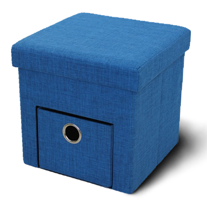 Bedroom Furniture Folding ottoman cubes with storage