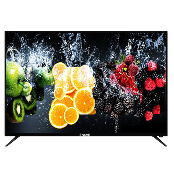 2019 Wholesale Big size flat screen TV 32 39 40 43 50 55 inch smart television sets