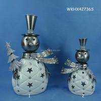 Tea Light Holder Cheap Led Light Christmas Snowman Decoration ...
