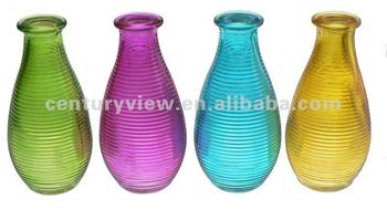 machine made cheap small colored glass vases - Colored Glass Vases