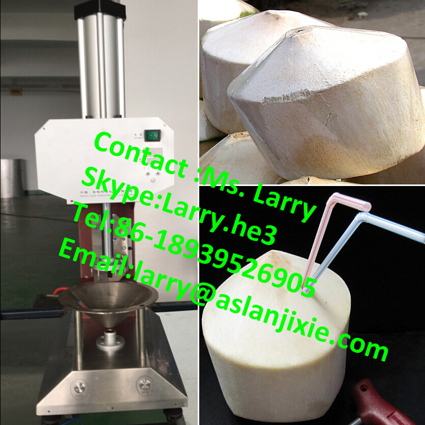 Coconut Peeler Machine/newest Type Young Coconut Trimming Machine ...