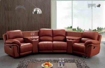 Superieur Semi Circle Sectional Sofa/New Design Recliner Sofa(608)