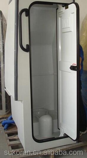 Middle Bus Toilet Coach Fiberglass Toilet