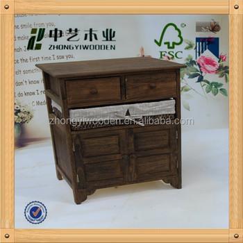 Fscsa Hot Selling Wooden Crockery CabinetWooden Furniture