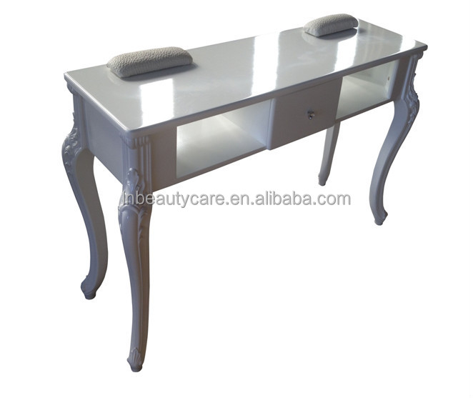 lne 098 double nail table manicure desk for 2 people salon table buy large nail table manicure. Black Bedroom Furniture Sets. Home Design Ideas