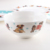 Promotional Round White Porcelain Cereal Bowl Customise Print