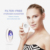 Portable facial equipment skin care oxygen machine toner cooling face spray